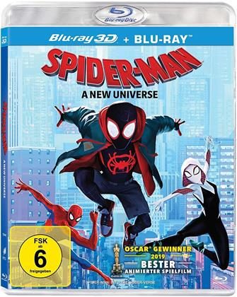 Spider-Man - A New Universe (2018) (Blu-ray 3D + Blu-ray)