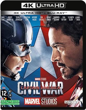 Captain America - Civil War (2016) (4K Ultra HD + Blu-ray)