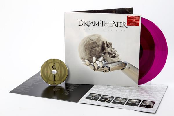 Dream Theater - Distance Over Time (Gatefold, Transparent Magenta, 2 LPs + CD)