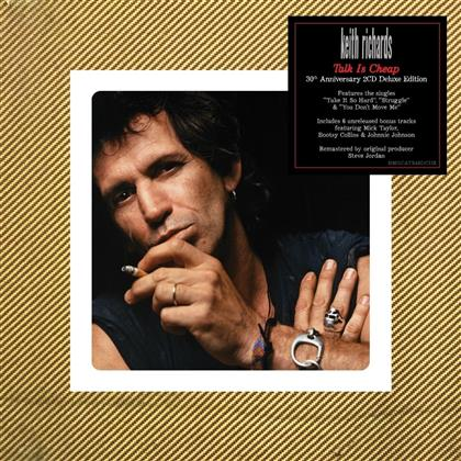 Keith Richards - Talk Is Cheap (2019 Reissue, Deluxe Edition, 2 CDs)