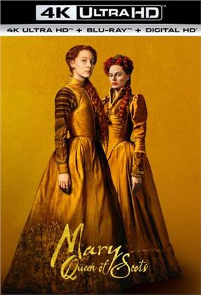 Mary Queen Of Scots (2018) (4K Ultra HD + Blu-ray)