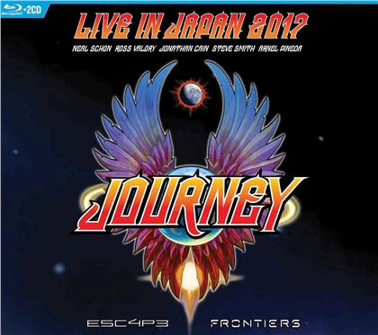 Journey - Live In Japan 2017: Escape + Frontiers (2 CDs + Blu-ray)
