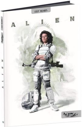 Alien (1979) (Film Culte, Format A4, Collector's Cut, Digibook, Director's Cut, Kinoversion, Blu-ray + DVD)