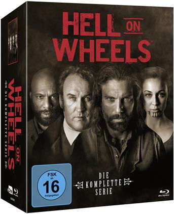 Hell on Wheels - Die komplette Serie (17 Blu-rays)