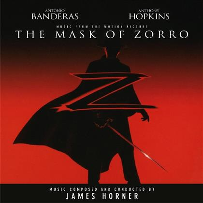James Horner - The Mask Of Zorro - OST (Music On Vinyl, 2019 Reissue, Red Vinyl, LP)
