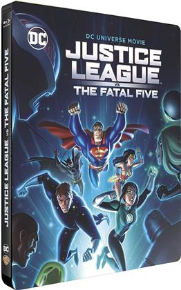 Justice League vs the Fatal Five (2019) (Day One Steelbook Edition, Limited Edition, Steelbook)