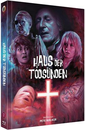 Haus der Todsünden (1976) (Cover B, Limited Edition, Mediabook, Blu-ray + DVD)