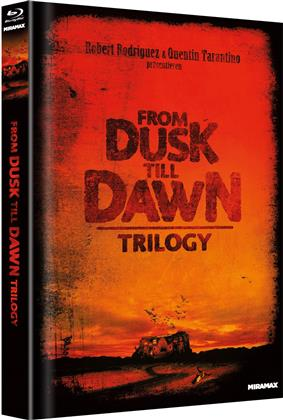 From Dusk Till Dawn Trilogy (Cover A, Limited Edition, Mediabook, Uncut, 4 Blu-rays)