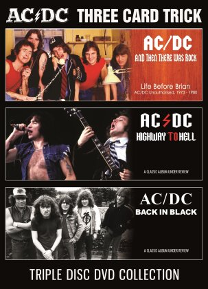 AC/DC - Three Card Trick (Inofficial, 3 DVDs)