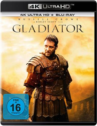 Gladiator (2000) (Extended Edition, Kinoversion, 4K Ultra HD + Blu-ray)