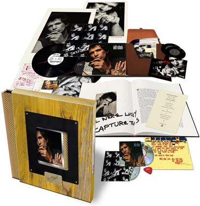 "Keith Richards - Talk Is Cheap (2019 Reissue, Limited Super Deluxe Box, Holzbox, 2 LPs + 2 7"" Singles + 2 CDs)"