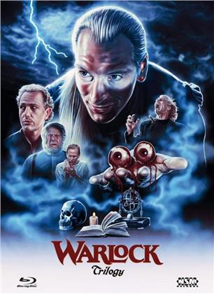 Warlock 1-3 - Trilogy (Cover A, Limited Edition, Mediabook, 3 Blu-rays)