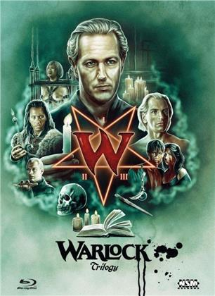 Warlock 1-3 - Trilogy (Cover C, Limited Edition, Mediabook, 3 Blu-rays)