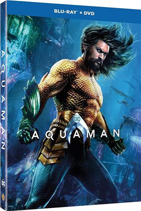 Aquaman (2018) (Digibook, Blu-ray + DVD)