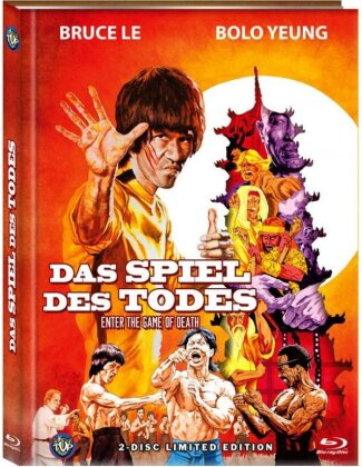 Bruce Lee - Das Spiel des Todes (1978) (Cover C, Limited Edition, Mediabook, Blu-ray + DVD)