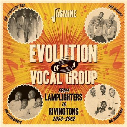 Lamplighters & Rivingtons - From Lamplighters To Rivingtons - Evolution Of A Vocal Group 1953-1962 (Remastered, 2 CDs)