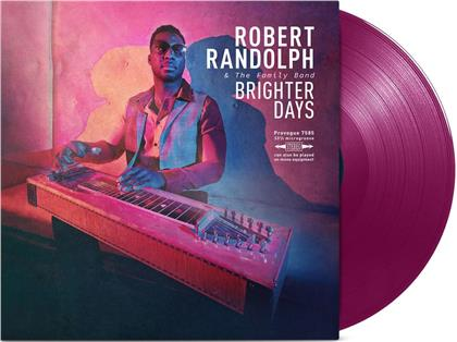Randolph Robert & Family Band - Brighter Days (Limited Edition, Purple Vinyl, LP)