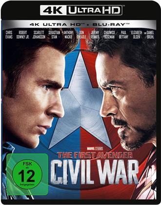 Captain America 3 - Civil War (2016) (4K Ultra HD + Blu-ray)