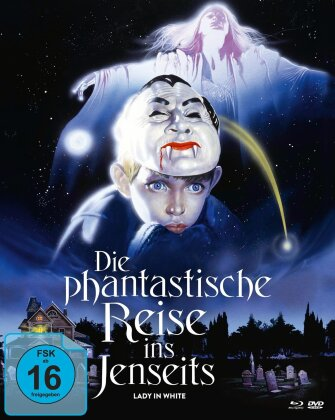 Die phantastische Reise ins Jenseits - Lady in White (1988) (Cover A, Mediabook, 2 Blu-rays + DVD)