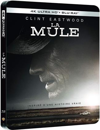 La Mule (2018) (Limited Edition, Steelbook, 4K Ultra HD + Blu-ray)