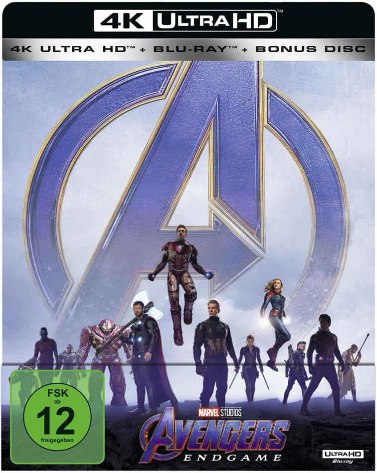 Avengers 4 - Endgame (2019) (Limited Edition, Steelbook, 4K Ultra HD + 2 Blu-rays)