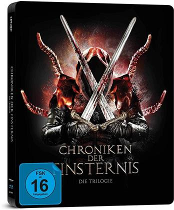 Chroniken der Finsternis - Die Trilogie (Limited Edition, Steelbook, 3 Blu-rays)