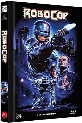 Robocop (1987) (Cover D, Director's Cut, Limited Edition, Mediabook, Blu-ray + DVD)