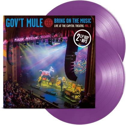 Gov't Mule - Bring On The Music - Live At The Capitol Theatre Vol. 1 (Colored, 2 LPs + Digital Copy)