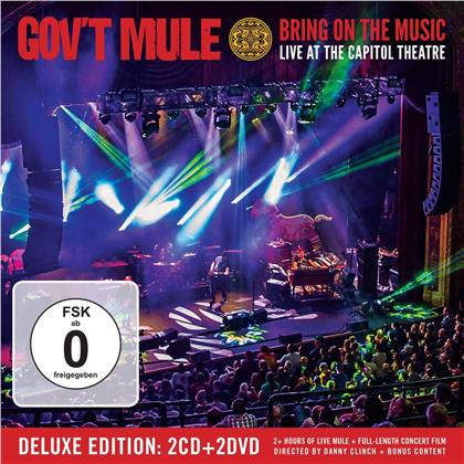 Gov't Mule - Bring On The Music - Live At The Capitol Theatre (2 CDs + 2 DVDs)