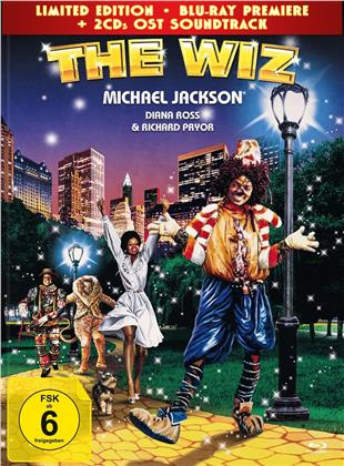 The Wiz (1978) (Limited Edition, Mediabook, Blu-ray + 2 CDs)