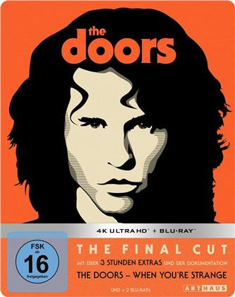 The Doors (1991) (Limited Edition, Steelbook, 4K Ultra HD + Blu-ray)