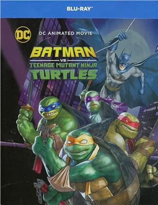 Batman vs Teenage Mutant Ninja Turtles (2019) (Limited Edition, Steelbook, Blu-ray + DVD)