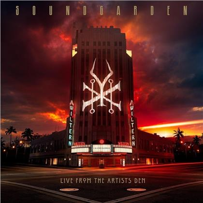 Soundgarden - Live From The Artists Den (Super Deluxe, 20th Anniversary Super Deluxe Edition, 4 LPs + 2 CDs + Blu-ray)
