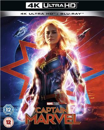 Captain Marvel (2019) (4K Ultra HD + Blu-ray)