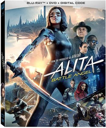 Alita: Battle Angel (2018) (Blu-ray + DVD)