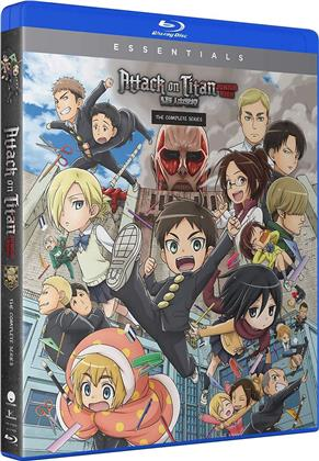 Attack On Titan - Junior High - The Comp Series (Essentials, 2 Blu-rays)
