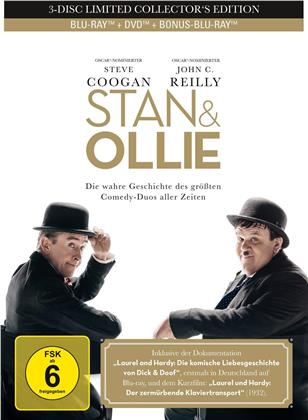Stan & Ollie (2018) (Limited Collector's Edition, Mediabook, 2 Blu-rays + DVD)