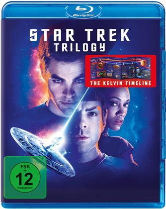 Star Trek: 3 Movie Blu-ray Collection - Star Trek 11 / Star Trek 12 - Into Darkness / Star Trek 13 - Beyond (3 Blu-rays)