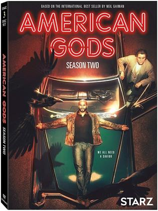 American Gods - Season 2 (3 DVDs)