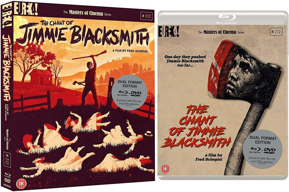 The Chant Of Jimmie Blacksmith (1978) (Masters of Cinema, DualDisc, Blu-ray + DVD)