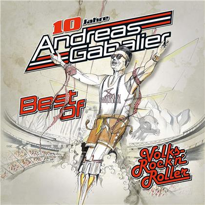 Andreas Gabalier - Best of-10 Jahre Volksrock'N'Roller (Jubiläums Edition, CD + DVD)