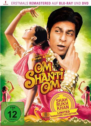 Om Shanti Om (2007) (Shah Rukh Khan Signature Collection, Limited Edition, Remastered, Blu-ray + DVD)