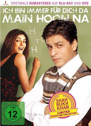Ich bin immer für dich da – Main Hoon Na (2004) (Shah Rukh Khan Signature Collection, Limited Edition, Remastered, Blu-ray + DVD)
