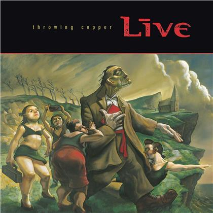 Live - Throwing Copper - + Book (25th Anniversary Edition, Deluxe Edition, 2 LPs + 2 CDs)