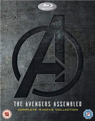 The Avengers Assembled - Complete 4-Movie Collection (4 Blu-rays)