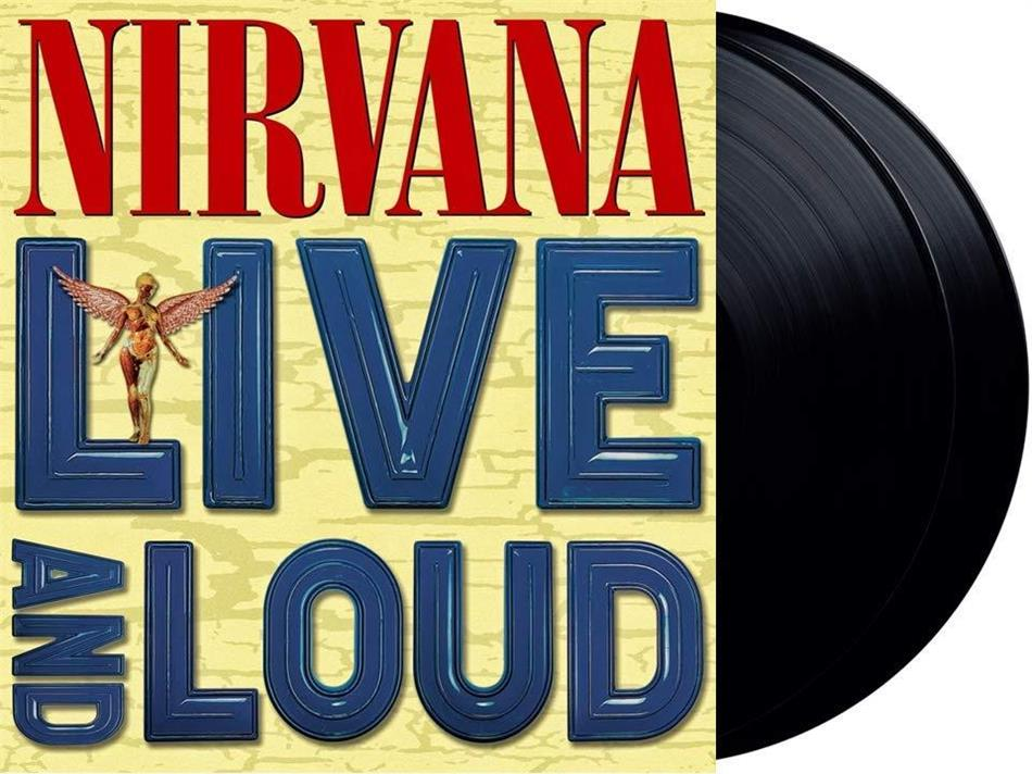 Nirvana - Live And Loud (Gatefold, 2 LPs)