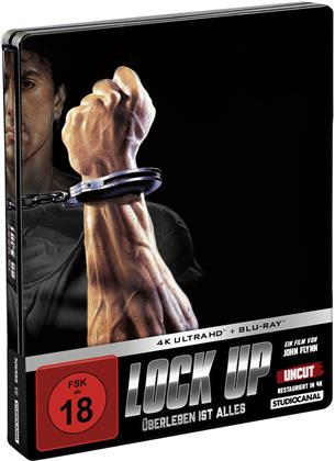 Lock Up - Überleben ist alles (1989) (Limited Edition, Steelbook, 4K Ultra HD + Blu-ray)
