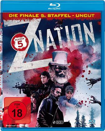 Z Nation - Staffel 5 - Die finale Staffel (Uncut, 4 Blu-rays)
