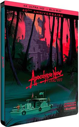Apocalypse Now (1979) (Final Cut, 40th Anniversary Edition, Limited Edition, Steelbook, 4K Ultra HD + Blu-ray)