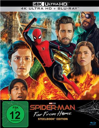 Spider-Man: Far From Home (2019) (Limited Edition, Steelbook, 4K Ultra HD + Blu-ray)